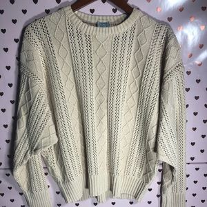 Vintage Oversized Chunky Sweater
